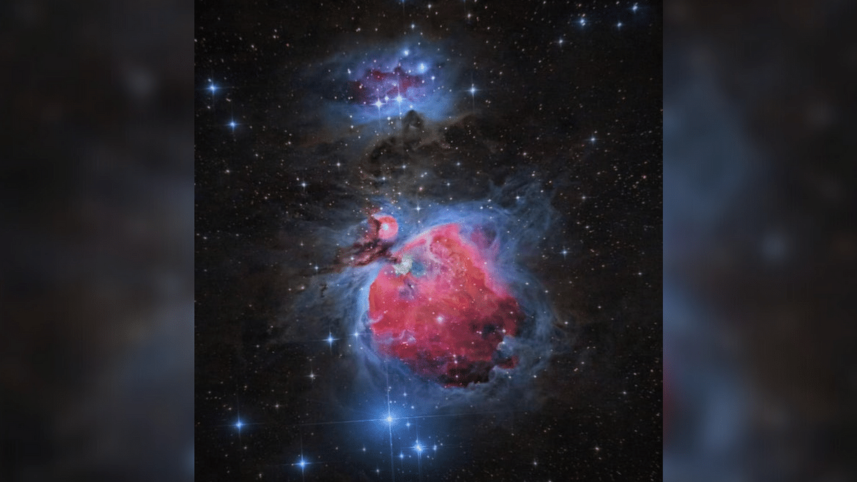 """<div class=""""paragraphs""""><p>Picture of the Orion Nebula by Aditya Kinjawadekar.</p></div>"""