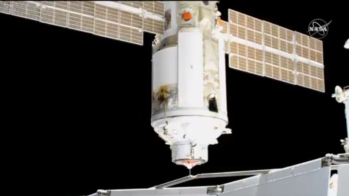 International Space Station Briefly Thrown Out of Position After Mishap: NASA