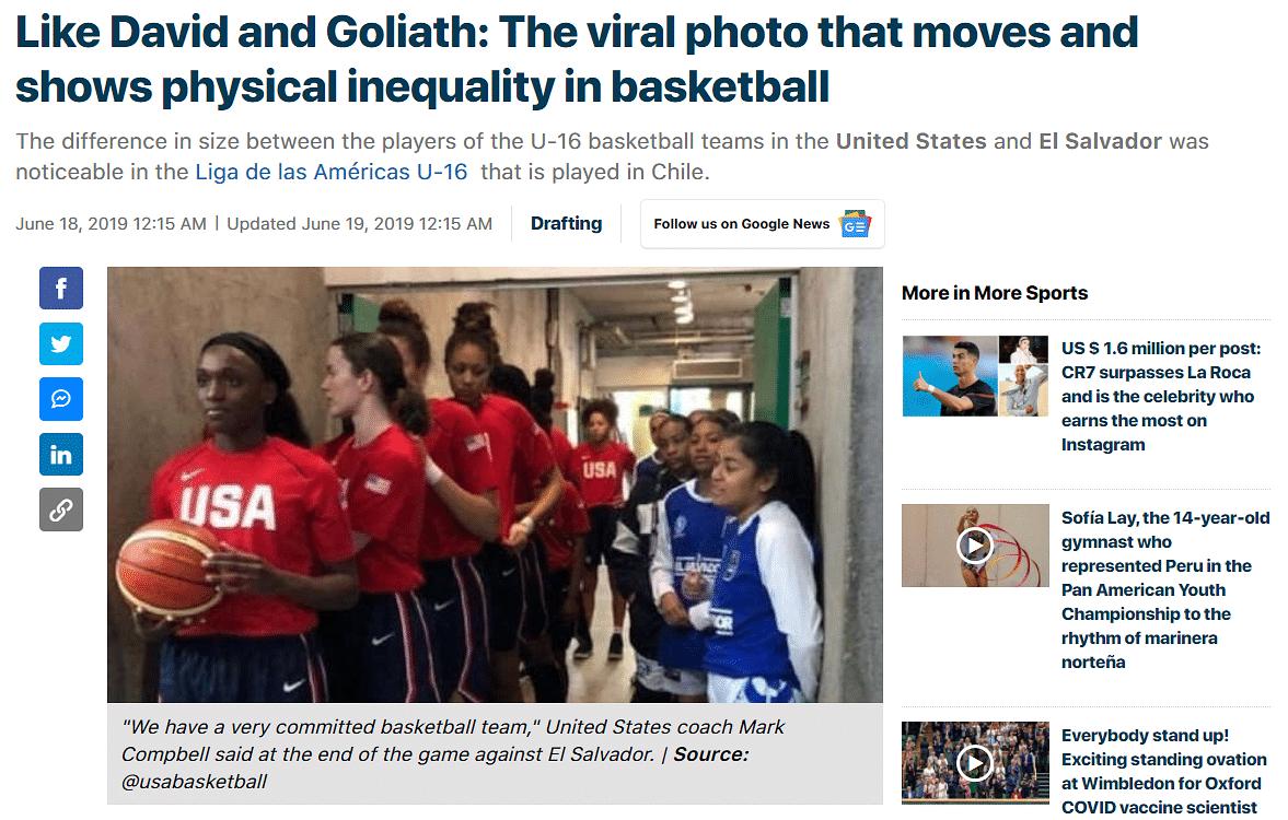 """<div class=""""paragraphs""""><p>A link to the article can be found <a href=""""https://rpp.pe/multideportes/mas-deportes/como-david-y-goliat-la-foto-viral-que-conmueve-y-muestra-la-desigualdad-fisica-en-el-basquet-noticia-1203726?ref=rpp"""">here</a>.</p></div>"""