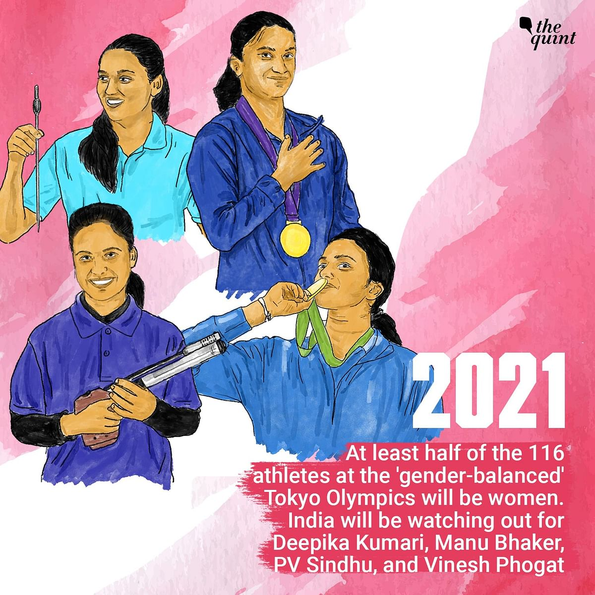 A Matter of Pride & 'Gender Balance': Rise Of Indian Women at The Olympics