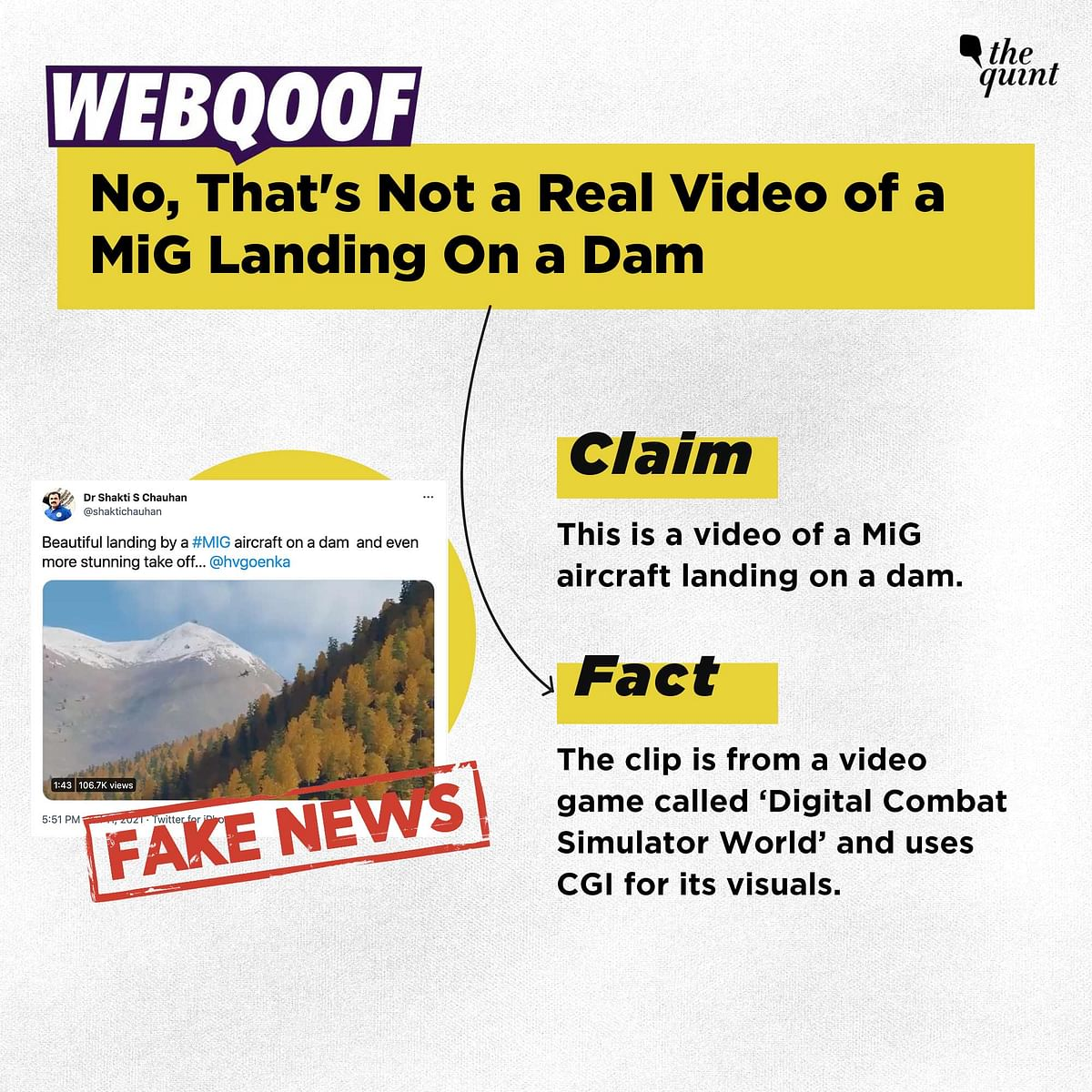 """<div class=""""paragraphs""""><p>The video is not a real one.&nbsp;</p></div>"""
