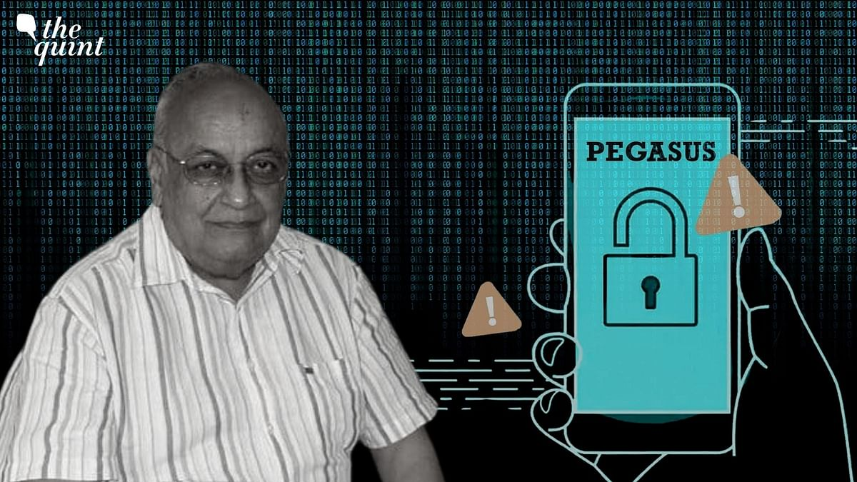 """<div class=""""paragraphs""""><p>Prem Shankar Jha, who writes for The Wire is reported to have been one of the targets of Pegasus snooping.&nbsp;</p></div>"""