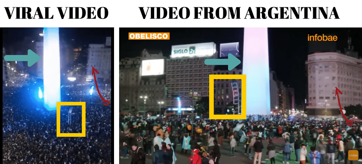 Video Shows Argentina's Copa America Win, Not Cuban Protests