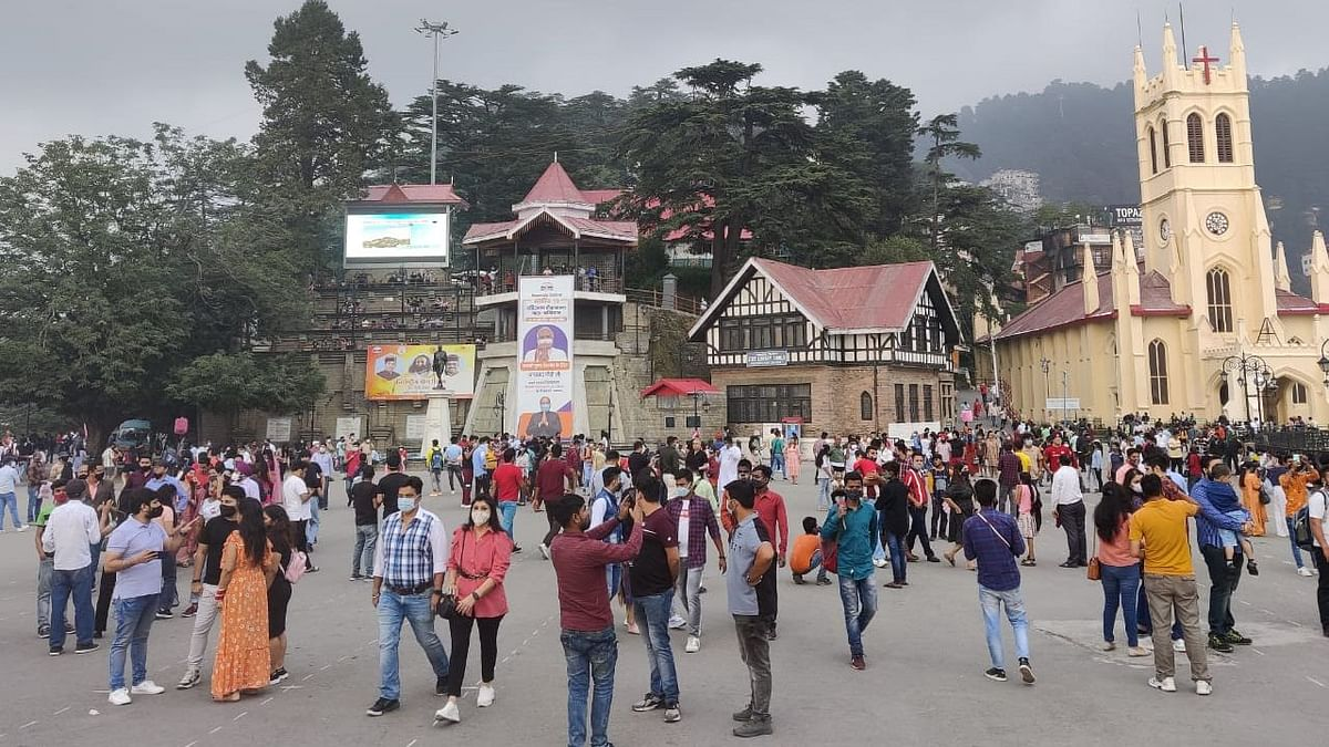 'Tourism With a Vengeance': Himachal Cop as Crowds Throng Manali, Shimla