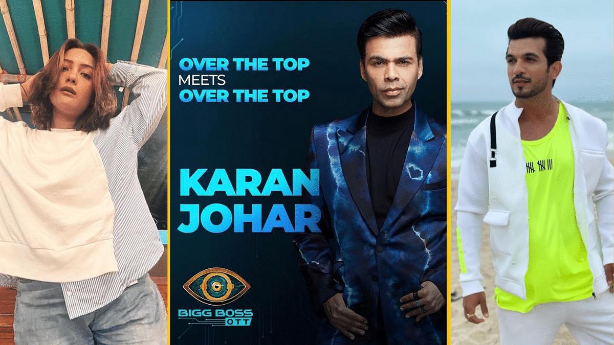 "<div class=""paragraphs""><p>Actors Aashika Bhati and Arjun Bijlani are rumoured to be a part of <em>Bigg Boss OTT</em> hosted by Karan Johar.&nbsp;</p></div>"