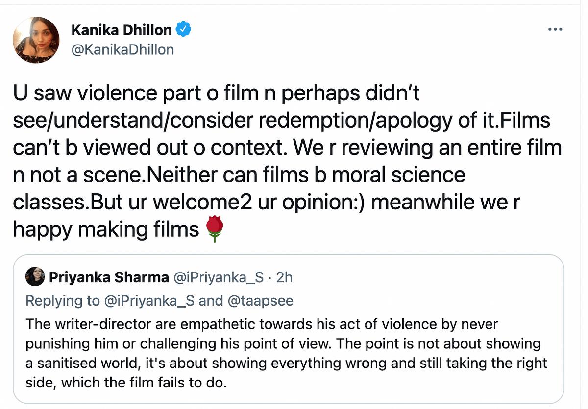 Taapsee Pannu, Kanika Dhillon React to Haseen Dillruba's Criticism