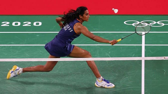 """<div class=""""paragraphs""""><p>Tokyo Olympics: PV Sindhu was up against Tai Tzu-Ying in the semi-final of the women's singles event.</p></div>"""