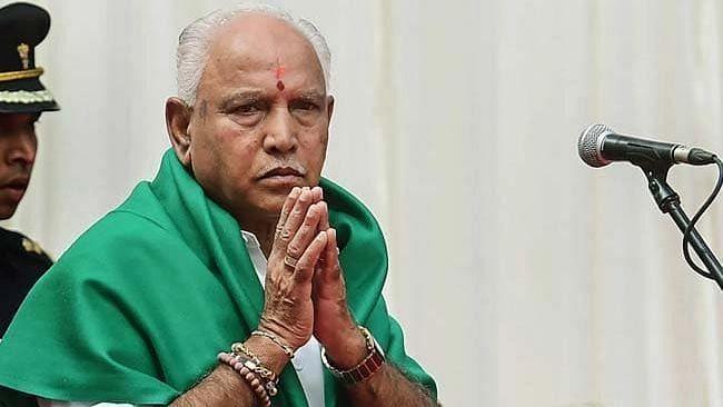 File image of Karnataka Chief Minister BS Yediyurappa.
