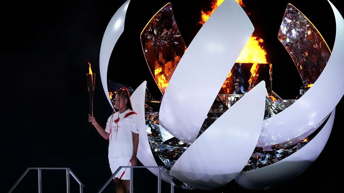 Naomi Osaka Lights Cauldron as Tokyo Olympics Finally Declared Open