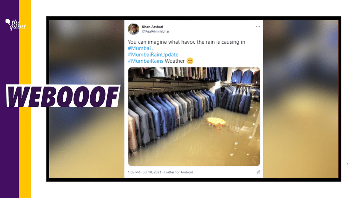 """<div class=""""paragraphs""""><p>The photo is from a clothing store in Patna and was taken in 2019.</p></div>"""