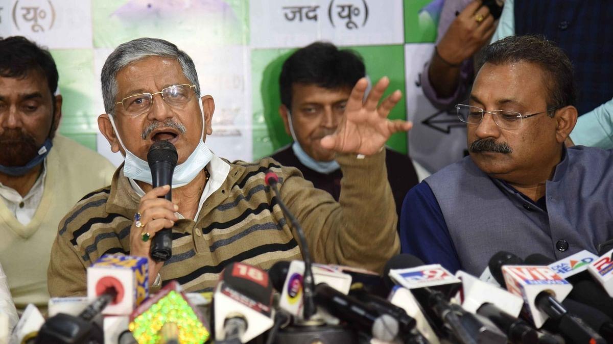 Rajiv Ranjan 'Lalan' Singh Replaces RCP Singh as JD(U) President