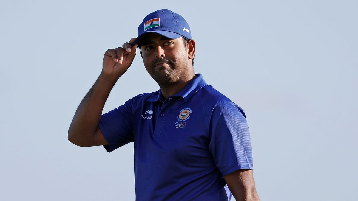"""<div class=""""paragraphs""""><p>Anirban Lahiri is one of two Indian male golfers at the Tokyo Olympics.</p></div>"""