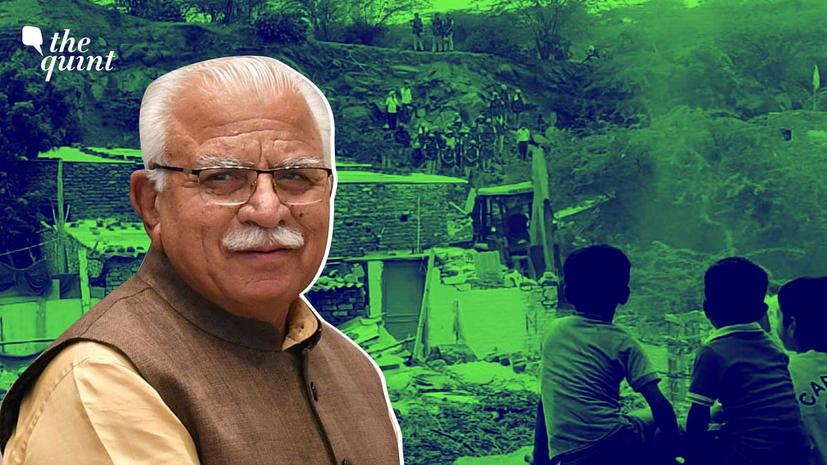 """<div class=""""paragraphs""""><p>The Faridabad civic body on 14 July presented a draft rehabilitation policy for residents of Khori village.</p></div>"""