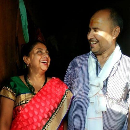 """<div class=""""paragraphs""""><p>In photo: Devika's parents.&nbsp;</p></div>"""