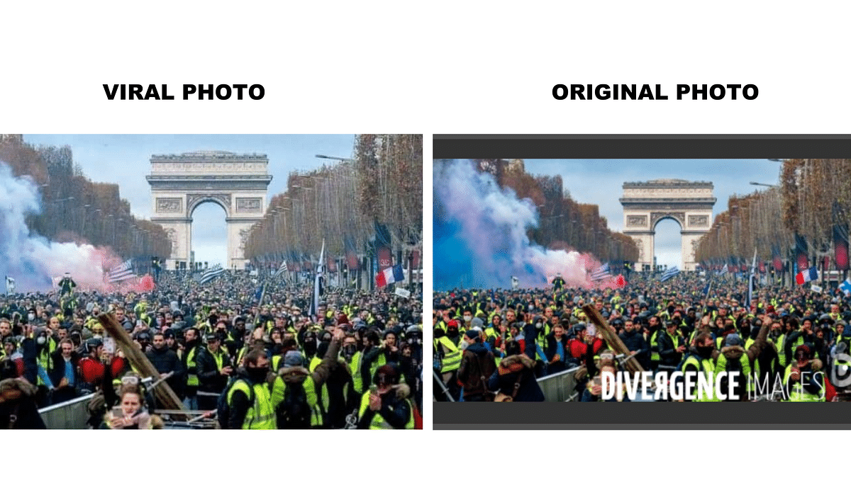 Old 2018 Photos Shared as Protests Related to COVID-19 in France