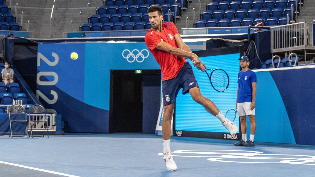 Djokovic Withdraws From Mixed Doubles After Losing Singles To Carreno Busta