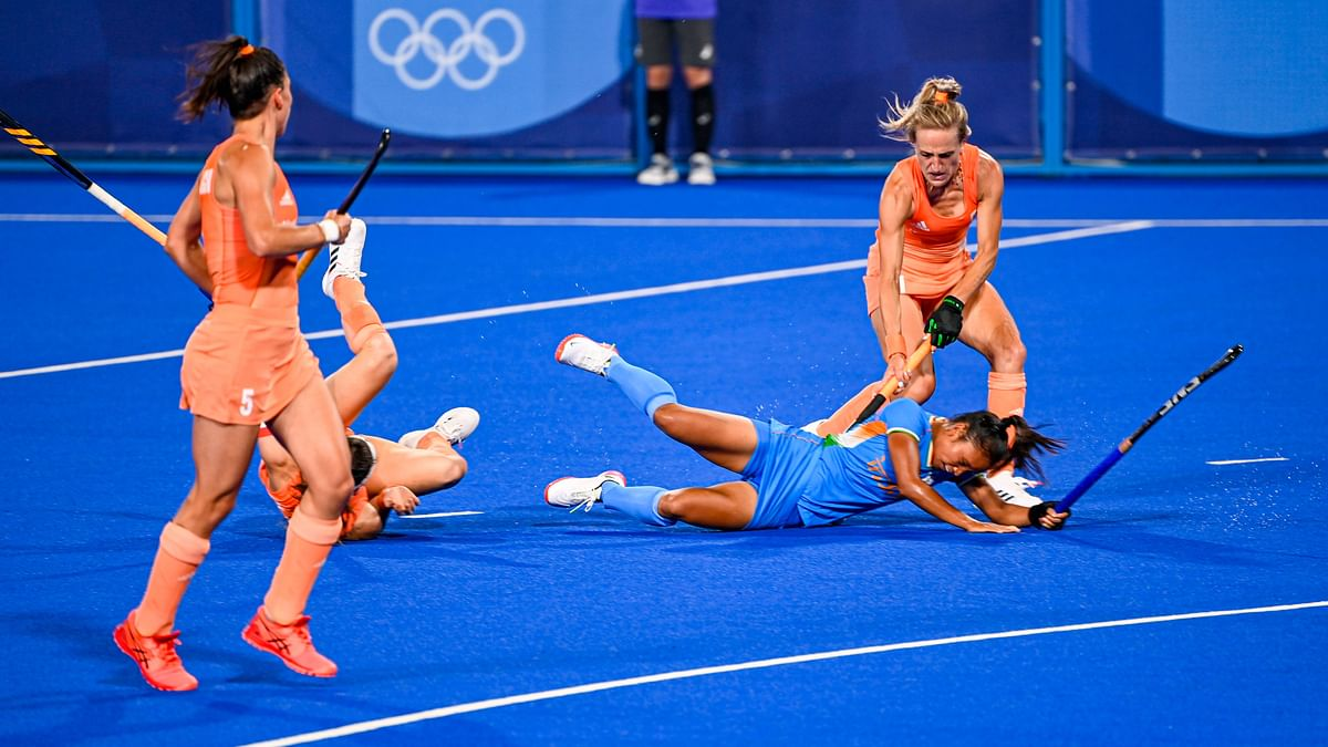 """<div class=""""paragraphs""""><p>Tokyo Olympics: Netherlands defeated India 5-1.&nbsp;</p></div>"""