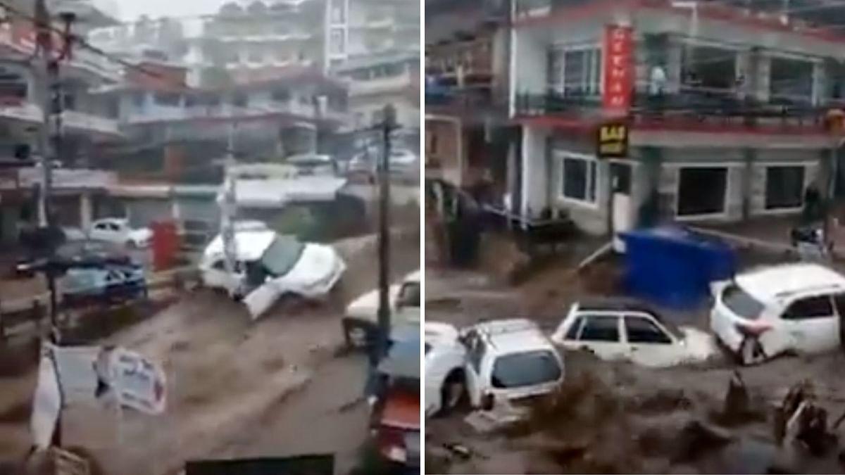 Floods Ravage Himachal's Dharamshala, Kashmir's Ganderbal; Rescue Ops On