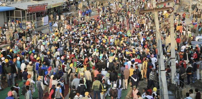 Hundreds of Farmers Protest in Haryana's Sirsa Over Sedition Case