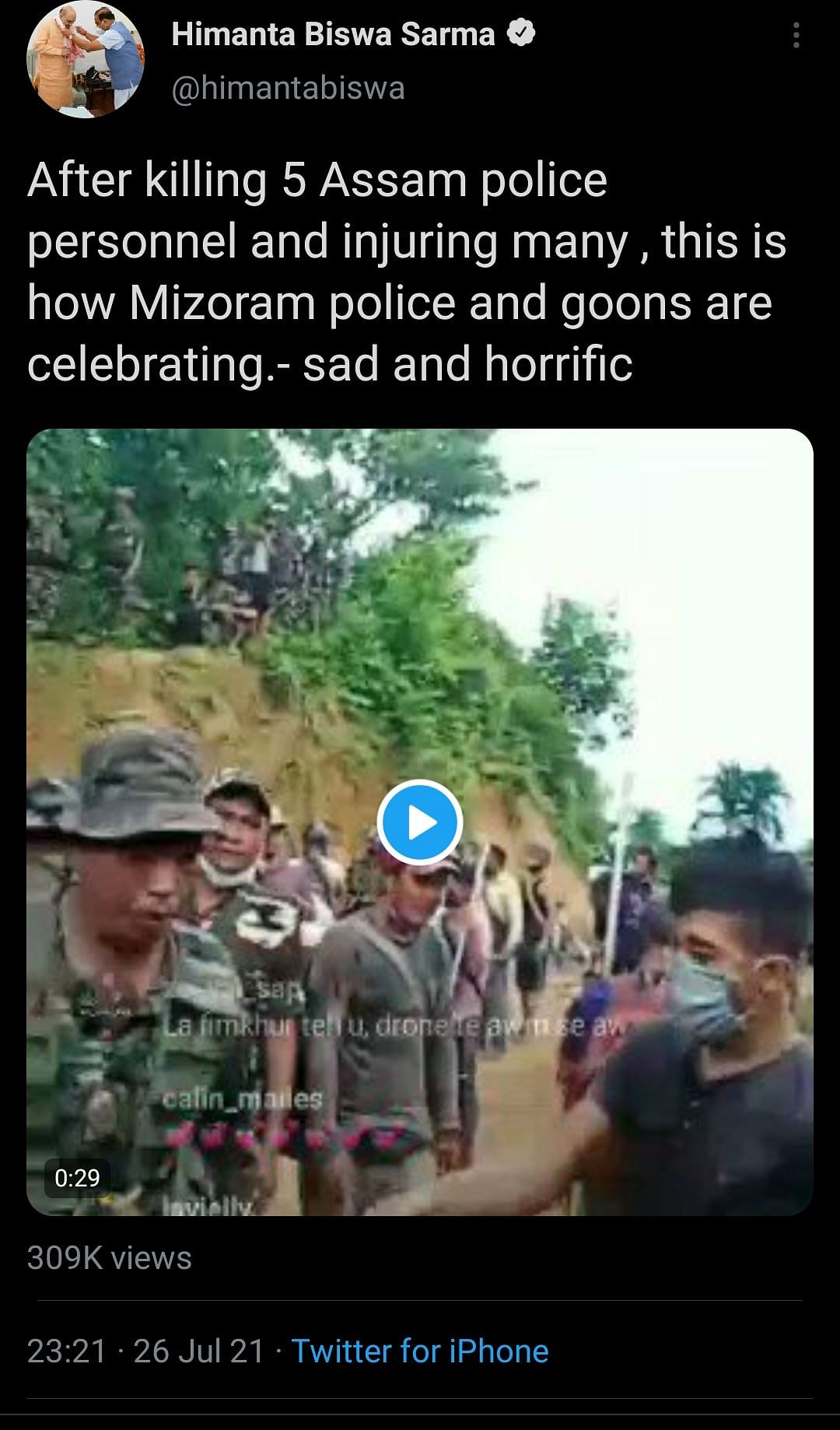 Assam-Mizoram Border Row: Videos To Twitter Spats, Why Himanta Raised the Pitch