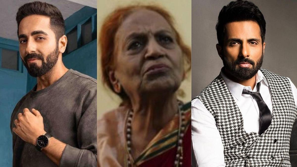Ayushmann, Jackie Shroff, Sonu Sood Extend Help to Actor Savita Bajaj