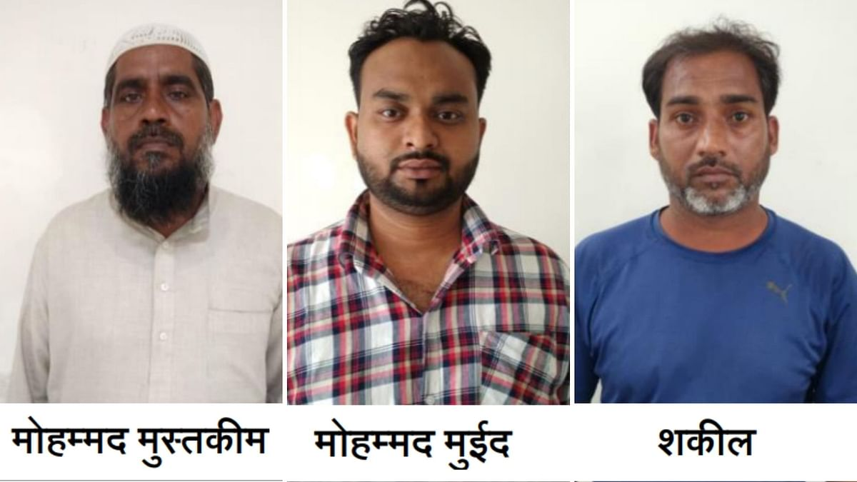 """<div class=""""paragraphs""""><p>The UP ATS  arrested three suepects with alleged links to Al Qaeda-linked Ansar Ghazwat-ul Hind.</p></div>"""