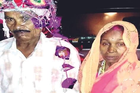 Live-in Couple Ties The Knot After 20 Years Together, Son Attends Wedding