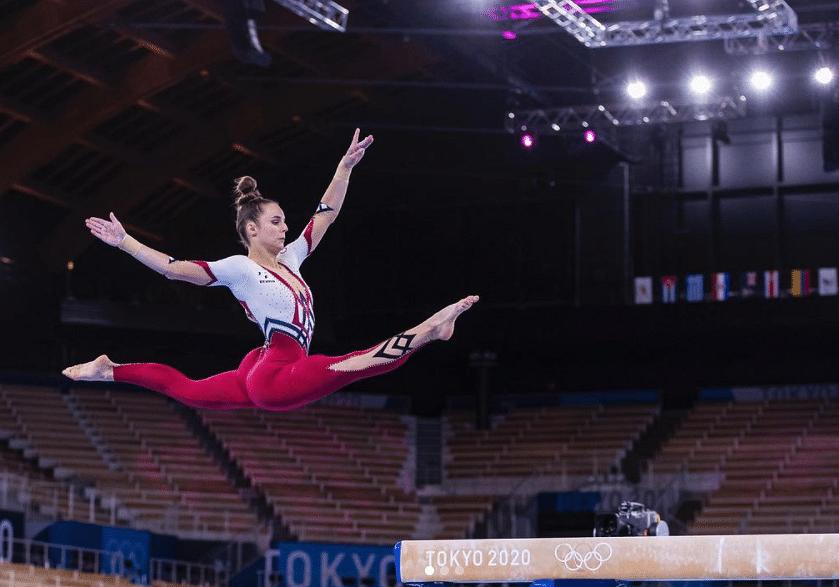 "<div class=""paragraphs""><p>German gymnastics team at Tokyo 2020</p></div>"