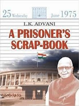 """<div class=""""paragraphs""""><p>LK Advani's 'A Prisoner's Scrap-Book.'</p></div>"""