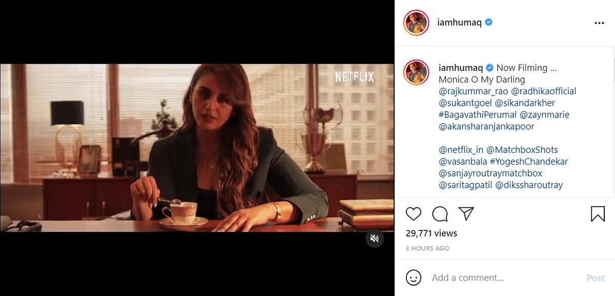 Radhika Apte, Rajkummar Rao in Vasan Bala's Next, Netflix Shares First Looks