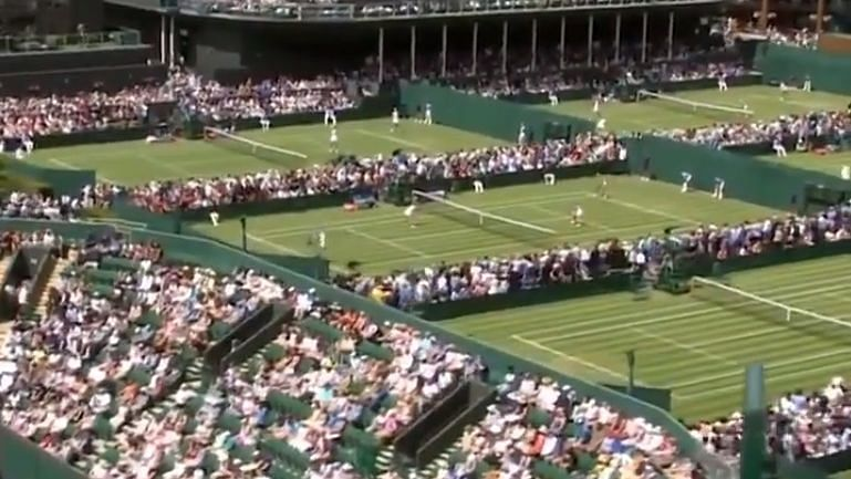 """<div class=""""paragraphs""""><p>A probe by a German newspaper has revealed that two matches at this year's Wimbledon are under investigation for match-fixing.</p></div>"""