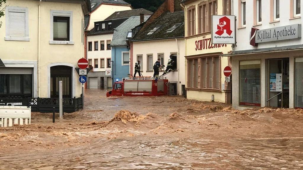 156 Dead As Heavy Rain Floods Western Germany; Evacuations Continue