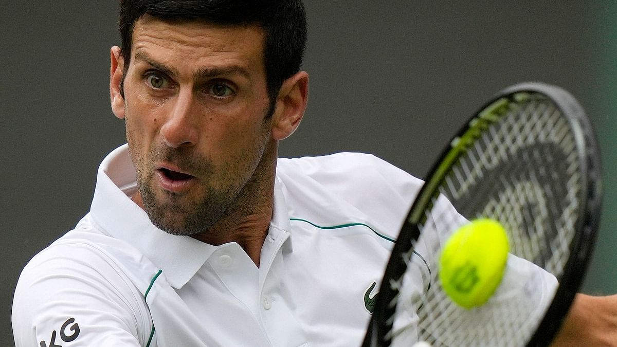 Djokovic Dispatches Anderson to Enter 3rd round at Wimbledon
