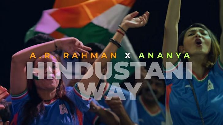 """<div class=""""paragraphs""""><p>A R Rahman and Ananya Birla launch an anthem for the Indian team at Tokyo Olympics</p></div>"""