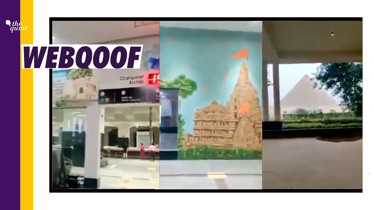 No, That's Not Ayodhya Railway Station; Video is From Gandhinagar