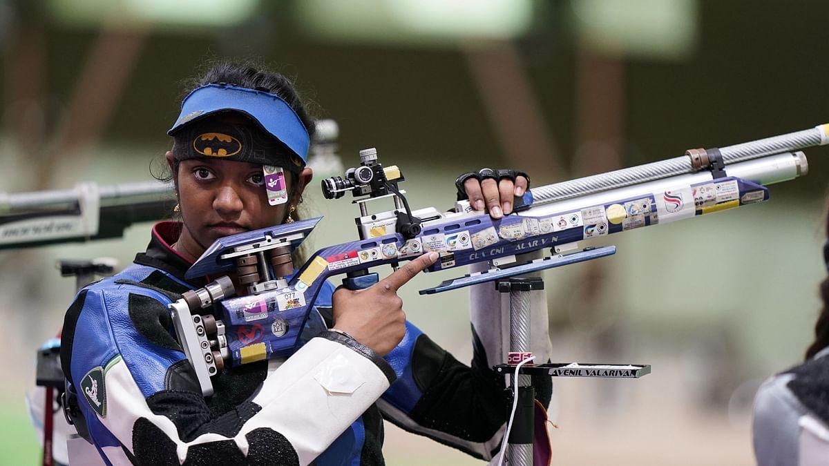 Elavenil Valarivan & Apurvi Chandela Knocked Out in 10m Air Rifle Qualifier