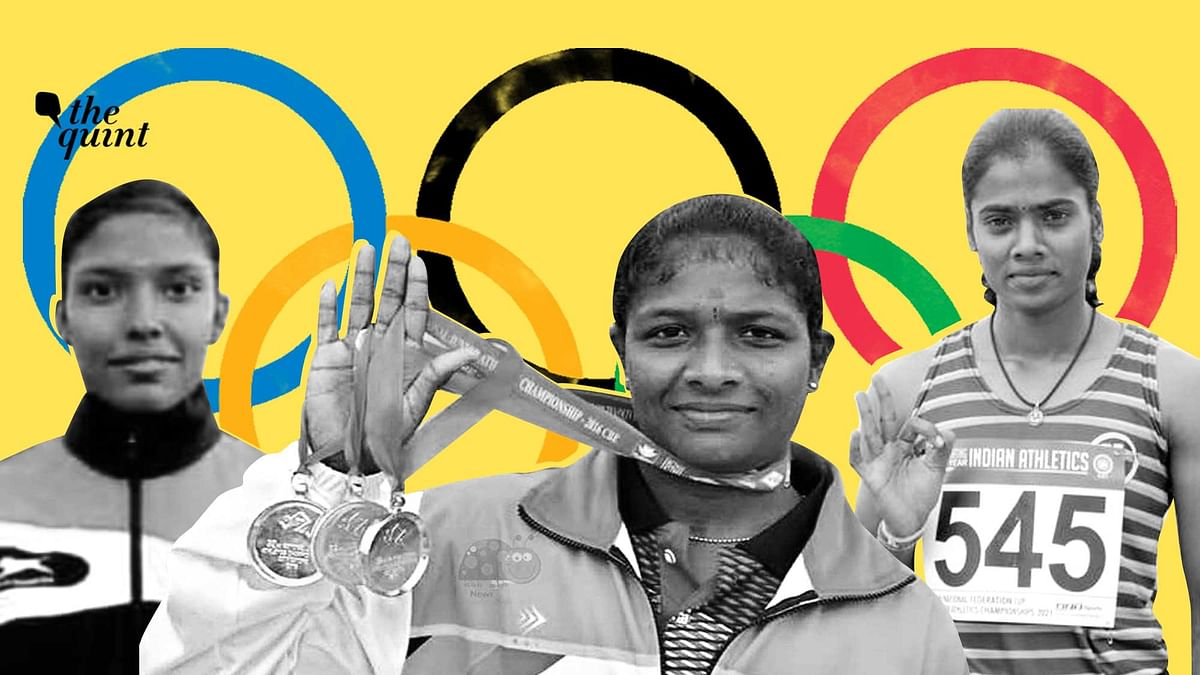 3 TN Women Sprint Past All Odds to Be India's Hope at Tokyo Olympics
