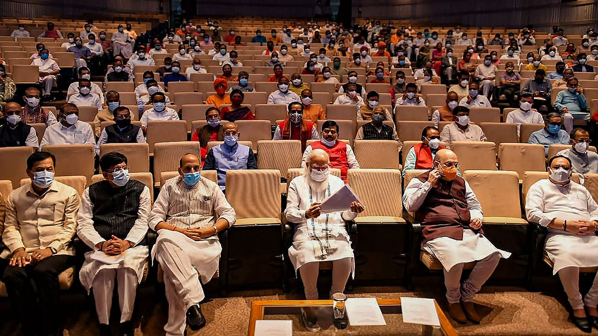 """<div class=""""paragraphs""""><p>BJP parliamentary party meeting on Tuesday, 20 July.&nbsp;</p></div>"""