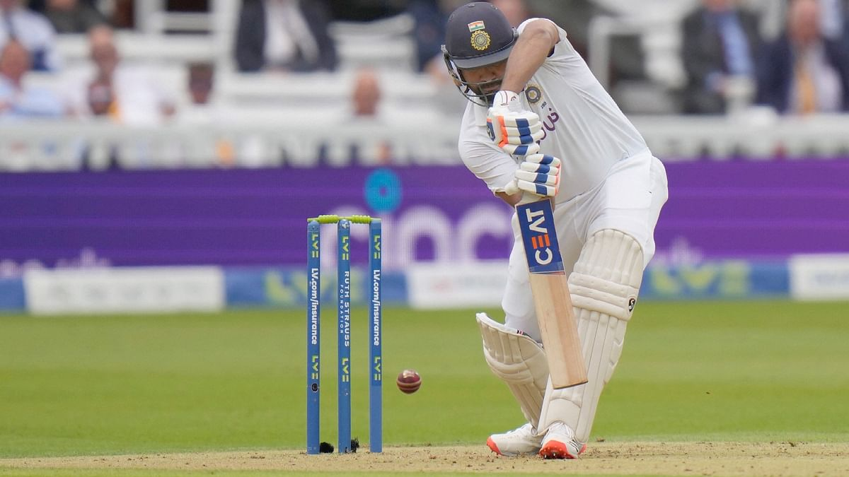 Anderson Strikes After Rohit Scores 83 for India; 157/2 At Tea on Day 1