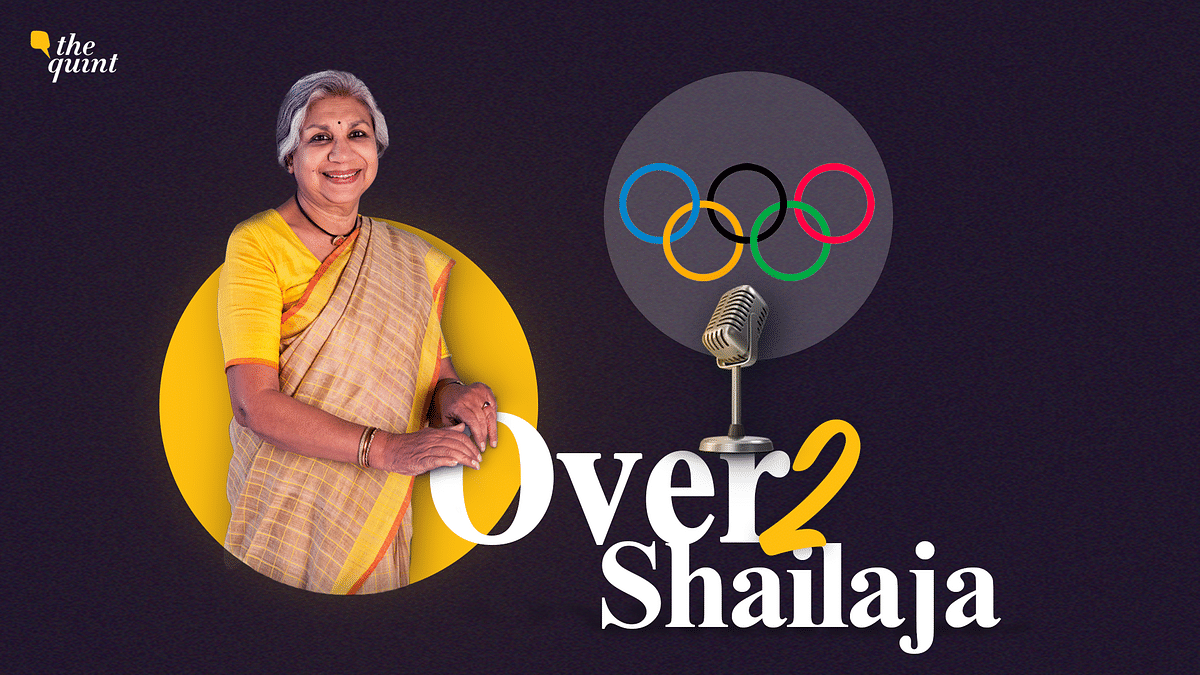 """<div class=""""paragraphs""""><p>Tune in to the third episode of <strong>The Quint</strong>'s podcast series, Over2Shailaja, with your host Shailaja Chandra!</p></div>"""