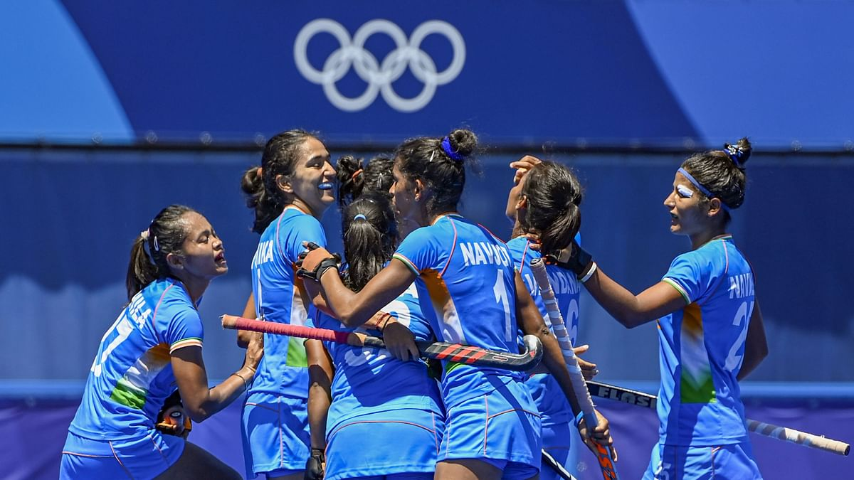 """<div class=""""paragraphs""""><p>Indian women's team finished 4th at the Tokyo Olympics.&nbsp;</p></div>"""