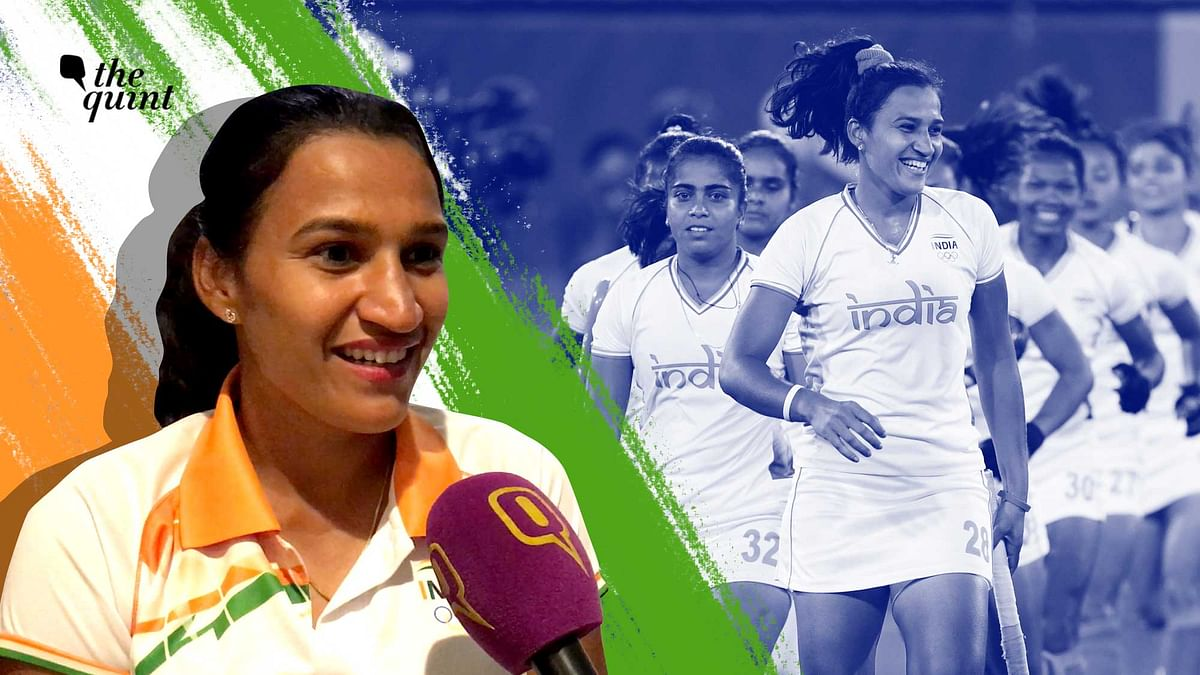 """<div class=""""paragraphs""""><p>Rani Rampal fought all odds to play hockey and now she wants to inspire others to also never give up.</p></div>"""