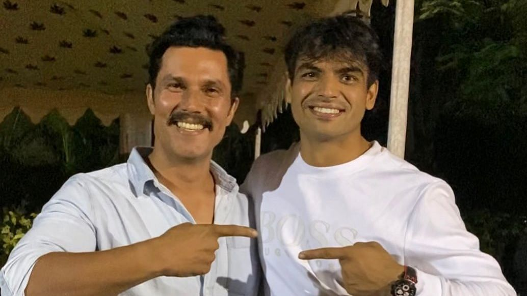 Randeep Hooda Shares Pic With Olympic Gold Medallist Neeraj Chopra