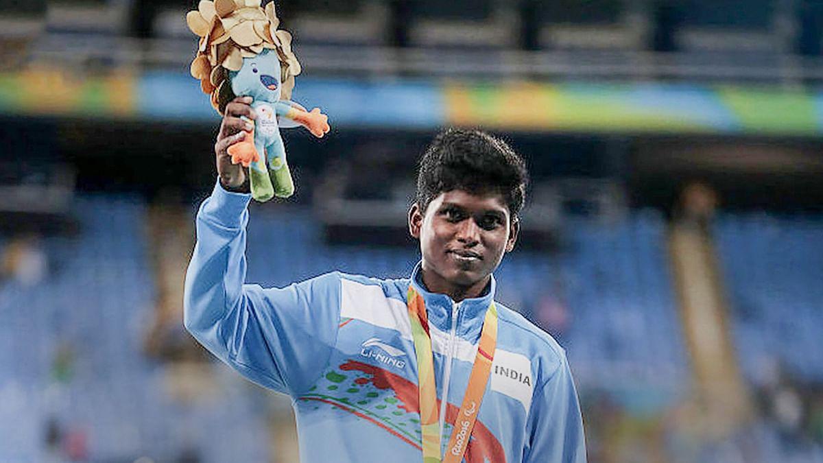 Mariyappan and Sharad Win Silver and Bronze Despite Rainy, Slippery Conditions