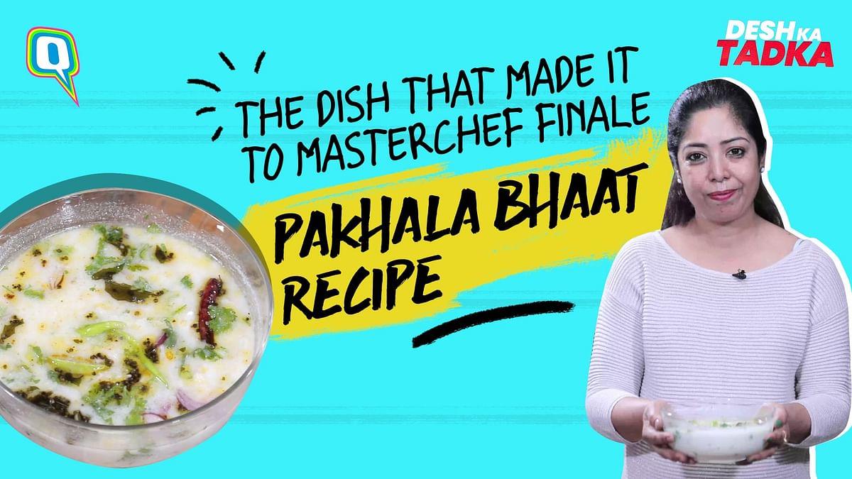 Pakhala Bhat – An Odia Cuisine: Fermented Rice Recipe