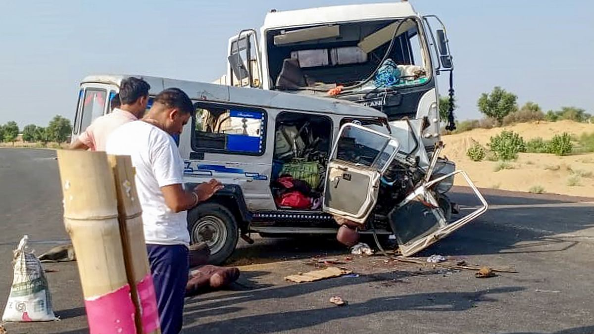 11 People From MP Die in a Road Accident in Rajasthan