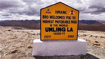 BRO Constructs Highest Motor-Able Road in the Word at 19,300 Feet
