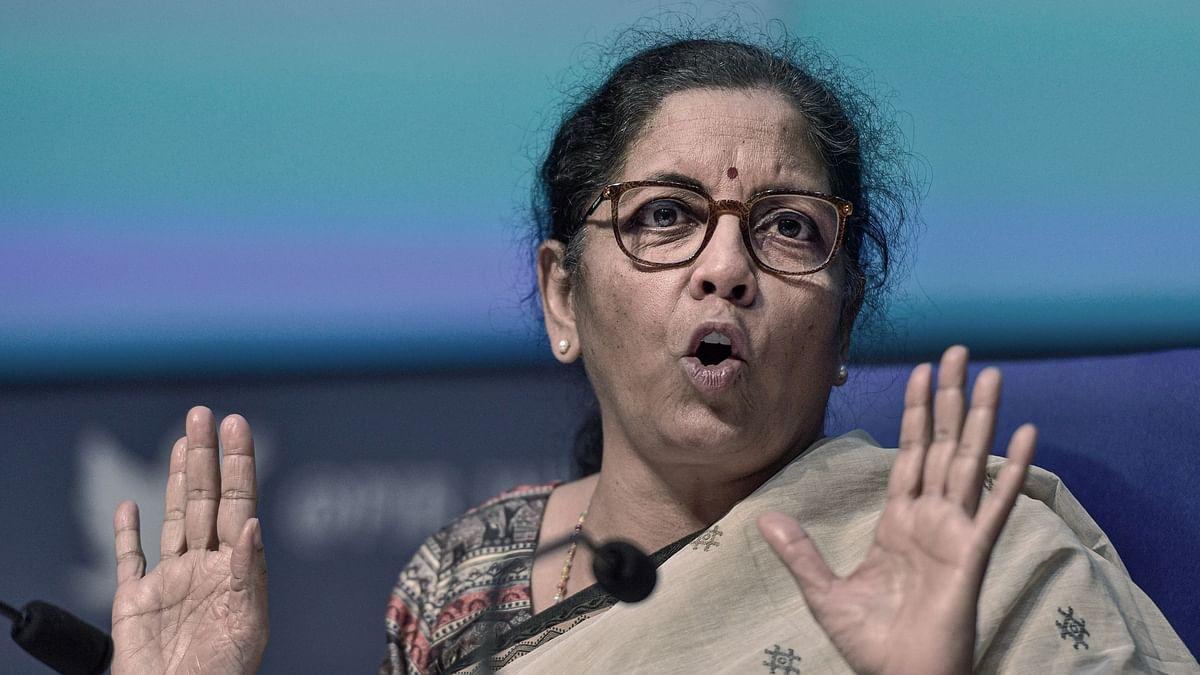 "<div class=""paragraphs""><p>Union Finance Minister Nirmala Sitharaman recently said the Centre was helpless due to UPA-era oil bonds.&nbsp;</p></div>"