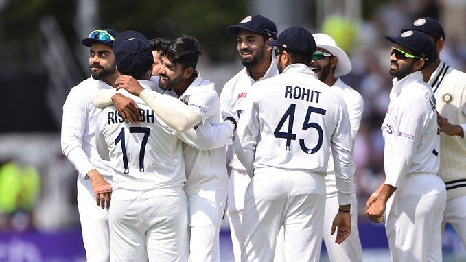 """<div class=""""paragraphs""""><p>Rahul and Siraj's contributions helped India beat England at Lord's.</p></div>"""