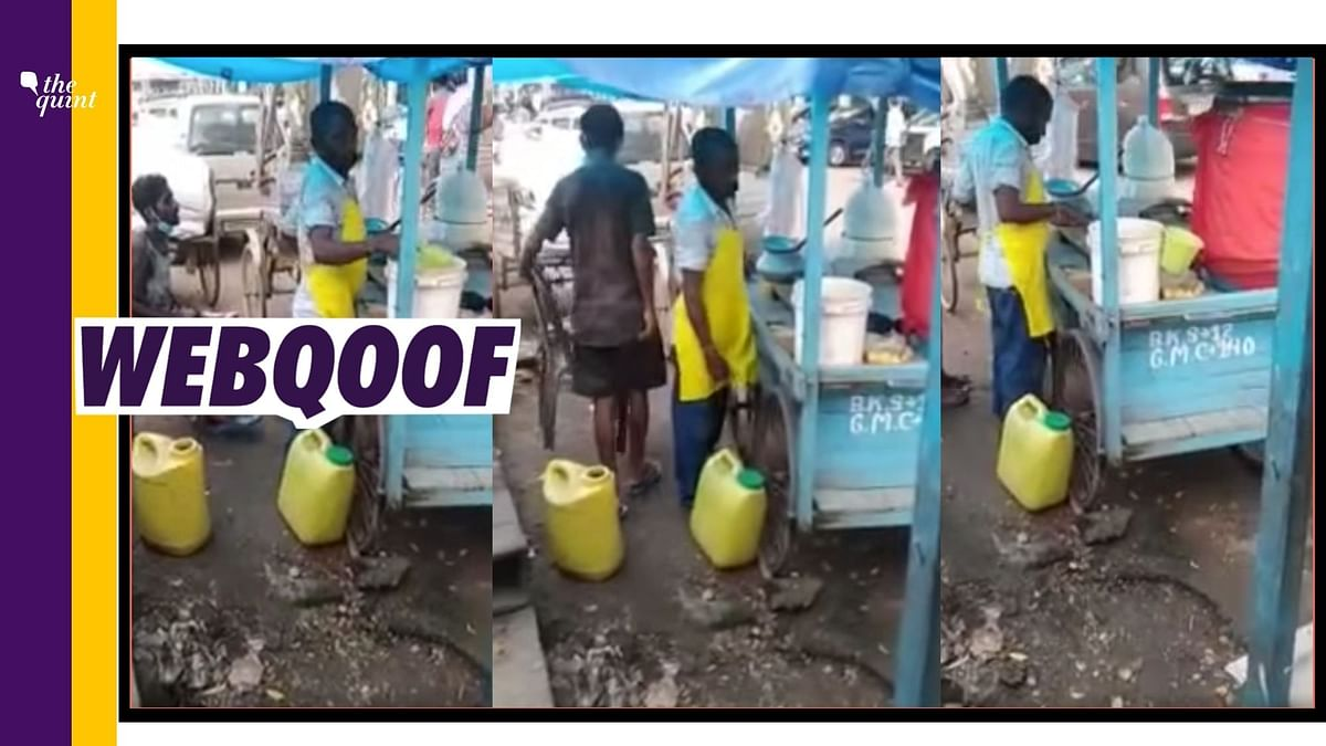 Video of Vendor Mixing Urine With Water Given False Communal Angle